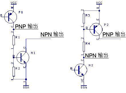 pnp和npn图_工控自动化技术文摘:开关传感器输出PNP与NPN的转换