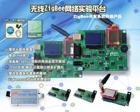 ZigBee无线网络专业开发系统