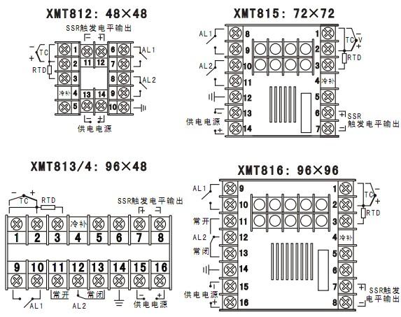 XMT818智能PID温控仪图片
