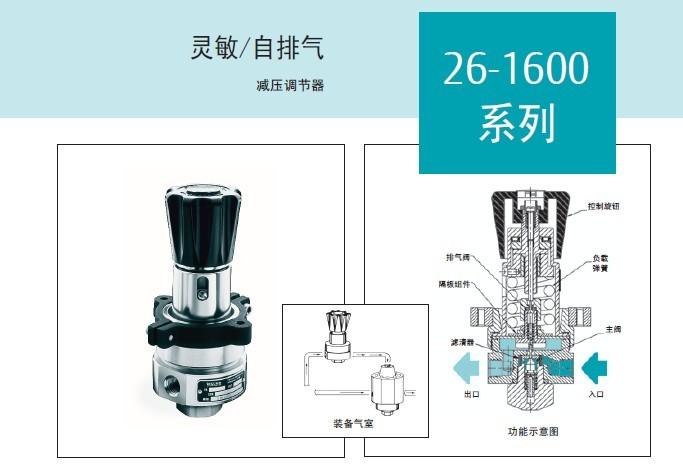 TESCOM低压调压阀 26 16系列