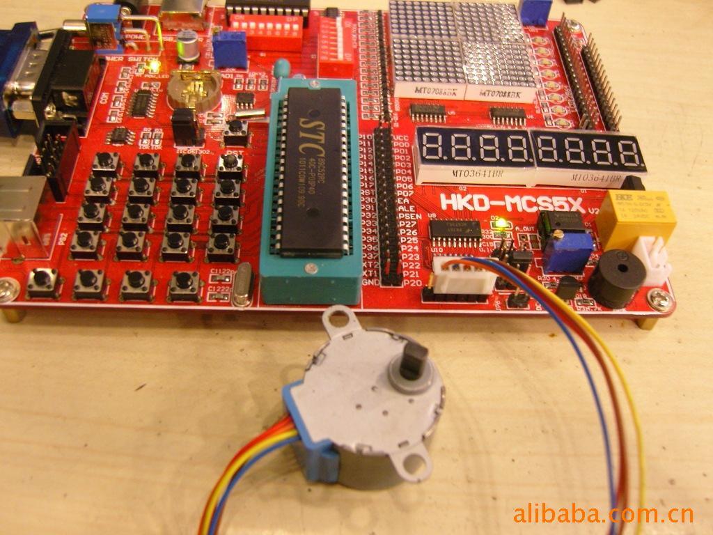 51单片机电机_MCS5X单片机开发板-51单片机开发板 MCS51开发板 单片机开发板-