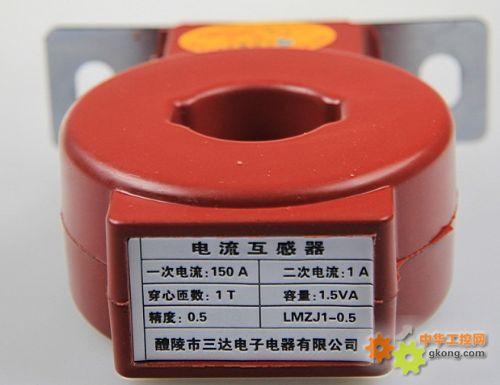 XK 零序电流互感器接线图片
