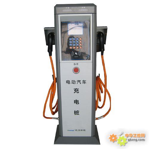 电动汽车交流充电桩 慢充桩高清图片