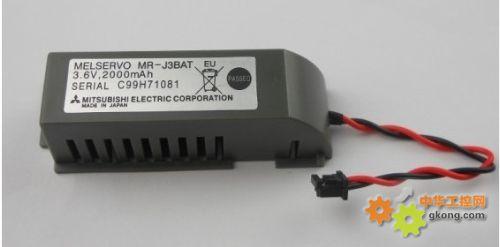 石家庄三菱PLC伺服锂电池J3BAT