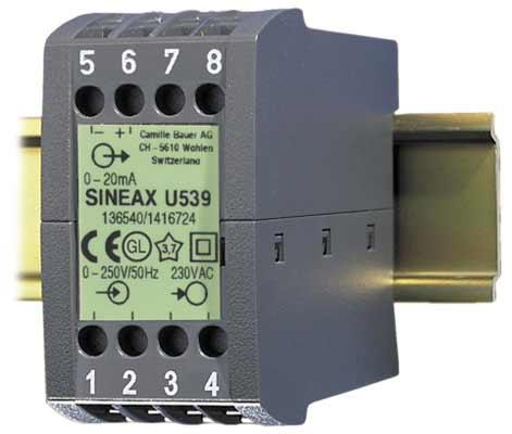 有源交流电压变送器图片