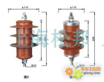 氧化锌避雷器 避雷器 过电压保护器图片