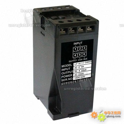 A43单相交流电压变送器图片